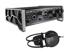TASCAM US-2x2 plus AKG K44 V2